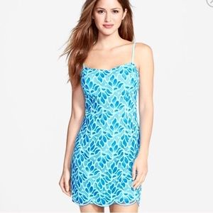 Lilly Pulitzer Avalon Lace Dress Floral Mini